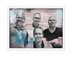 'Four brothers' Size: 80x60x4