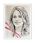 'First day with Heleen van Royen' Formaat (bxhxd): 80x100x2