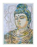 'Be my Buddah #2' Size: 60x80x2