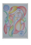 'Fishes movements' Size: 42x57x3