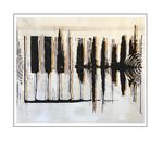 'Lovely piano beats' Size: 124x104x3