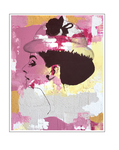 'Fourth day with Audrey Hepburn' Size: 64x84x3