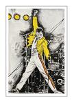 'First day with Freddie Mercury' Size: 40x60x2