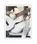 'Amazing guitar #2' Formaat (bxhxd): 80x100x2