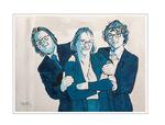 'Deborah and her sons' Formaat (bxhxd): 80x60x4