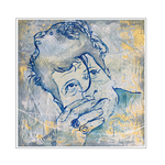 'First day with Herman Brood' Size: 50x50x4