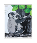 'Koalas are beautiful #2' Formaat (bxhxd): 50x60x2