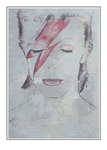 'Second day with David Bowie' Size: 83x123x5