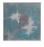 'Touch my blueness #1' Formaat (bxhxd): 60x60x3