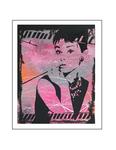'Seventh day with Audrey Hepburn'  Formaat (bxhxd): 80x60x2