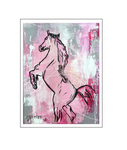 'Horses are beautiful #2' Formaat (bxhxd): 60x80x2