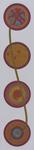 Vier Kreise 35X150