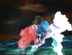 Essen (manger) - huile et acryl sur dibond - 45 x 59,5 cm - n°1/2012