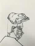 Sans titre - feutre pinceau sur papier - 35,5 x 27 cm - carnet du 30 janvier au 16 mars 2011 (sélection)