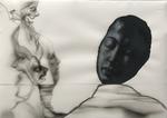 Déluge - crayon et gouache sur papier - 38 x 53 cm - 2016