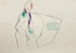 Rinderpest - crayon et crayon couleur sur papier - 30 x 42 cm - 2012