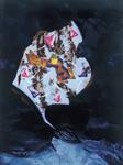 La montagne pense I - huile sous verre - 153 x 115 cm - 1999