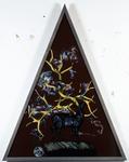 Les sept péchés capitaux - colère - 165 x 128 cm - huile sous verre - 1996