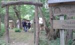 Der Eingang zum Grundstück des Imkervereins.