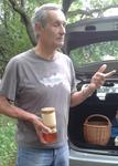 Zum Schluss erklärt uns Herr Trapp, wie der Honig ins Glas kommt und warum es verschiedene Honigarten gibt.