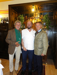 7/2012 mit Prof. Bernd Lötsch beim Haubenkoch Gottfried Bachler/Althofen