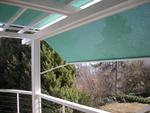 Store de protection solaire à bras, toile Ferrari Soltis 92