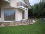 Pose structure terrasse bois composite