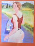 Ballade dans le cantal (70*50 cm) pastel 2001