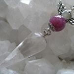 インドルビーとマカルー山水晶