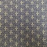 056 - dunkelblau Ornamente