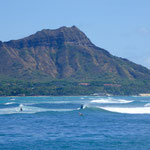 ハワイ ウェルネス 自然 海 ダイアモンドヘッド サーフィン 波乗り