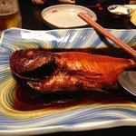 金目鯛姿煮です
