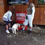 Hundetankstelle ERÖFFNET 24.8.2013!