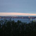 Blick vom Restaurant aus auf Vancouver