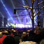 Party an Silvester am Brandenburger Tor