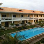 unser Hotel in Bohol