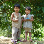 süße philippinische Kinder
