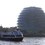 Blick von der Themse aus