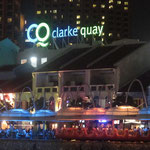 Vergnügungsmeile Clarke Quay