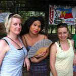 drei hübsche Ladies