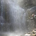 Andy am Wasserfall