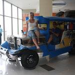 Jeepney im Aquarium