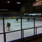 beim Eishockey
