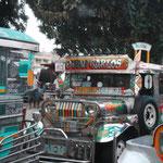 Hauptverkehrsmittel Nr. 1 - Jeepneys