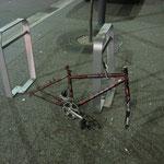 das war wohl mal ein Fahrrad