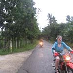 Motorradausflug im Regen