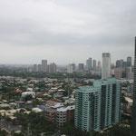 Manila Makati von unserer Unterkunft aus