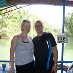 Floating Restaurant auf dem Loboc River
