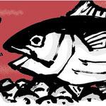 漁師が釣って漁師が焼いた