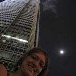 Me, IFC and the moon^^ ..what a combination :D